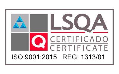 Renovación Certificado Sistema Gestión de Calidad ISO 9001:2015