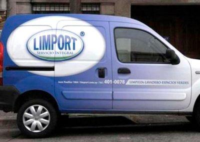 camioneta servicios Limport